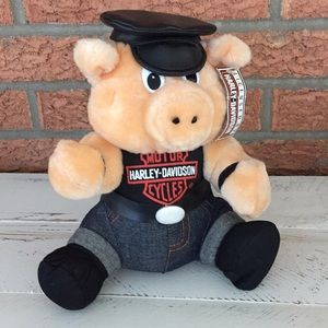 Licensed Harley- Davidson Hog Plushie